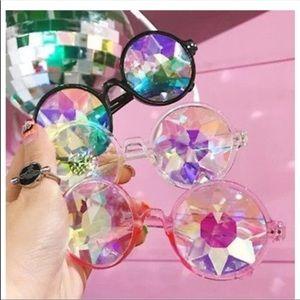 Accessories - Round Kaleidoscope Glasses